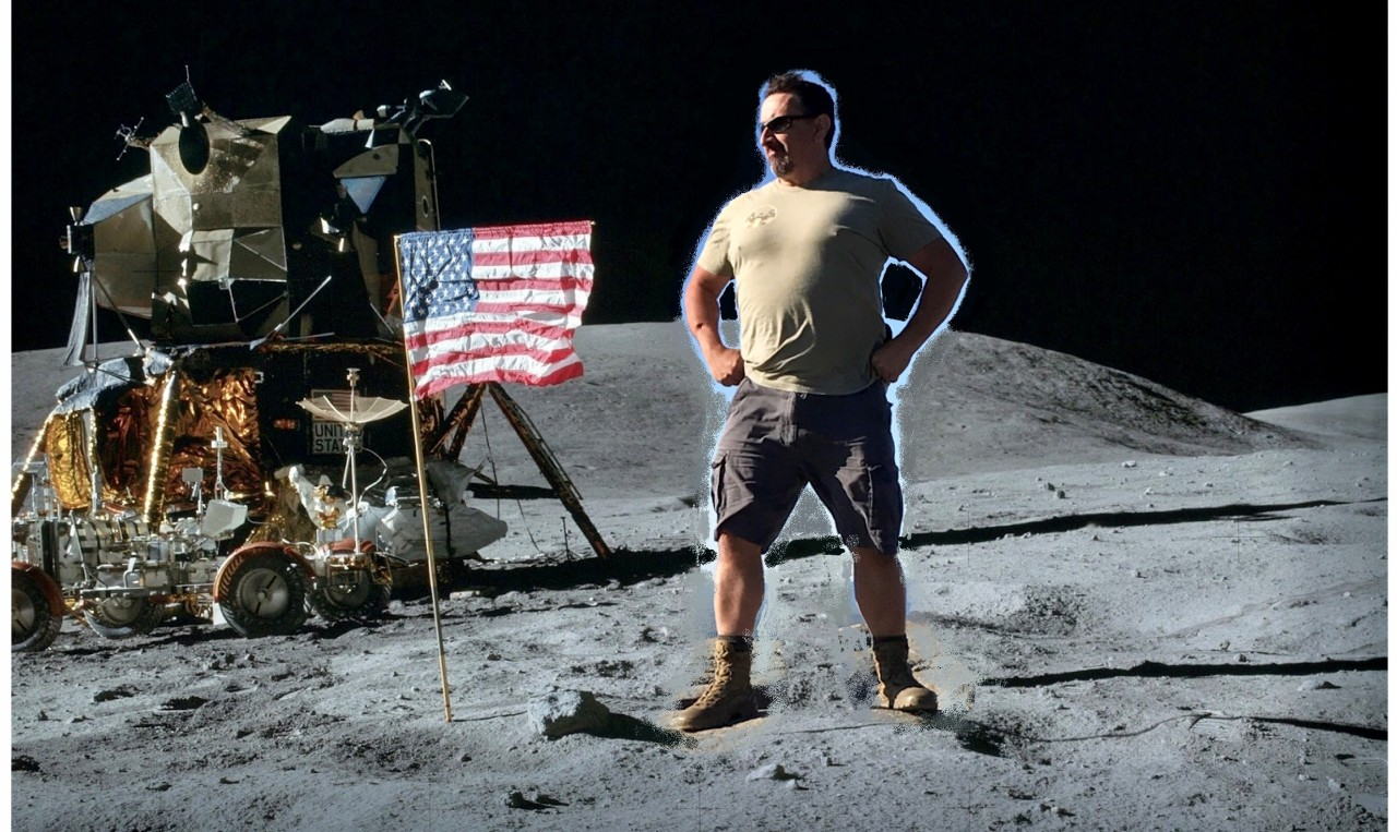 Mark on the Moon